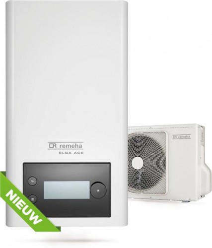 Hybride Lucht-Water Warmtepomp