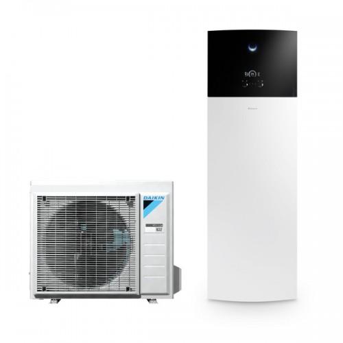 All-Electric Lucht-Water Warmtepomp met Warm Water