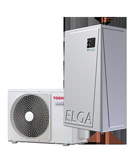 Elga Hybride Lucht/warmtepomp Standaard plaatsing - Elga-Hybride-Lucht/warmtepomp